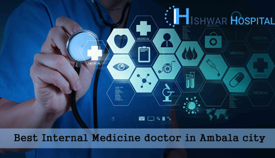 Best Internal Medicine doctor in Ambala city